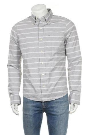 Pánská košile  Abercrombie & Fitch, Velikost M, Barva Šedá, Bavlna, Cena  179,00Kč
