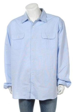 Мъжка риза Alexander Julian, Размер 3XL, Цвят Син, 70% памук, 30% полиестер, Цена 19,95лв.