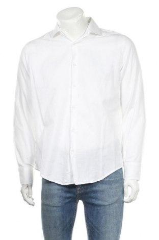 Мъжка риза Alviero Martini, Размер L, Цвят Бял, Памук, Цена 19,20лв.