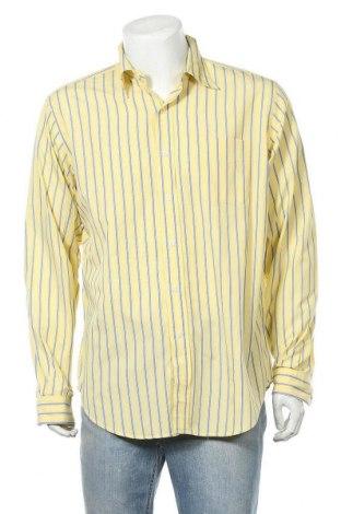 Мъжка риза American Living, Размер L, Цвят Жълт, Памук, Цена 5,67лв.