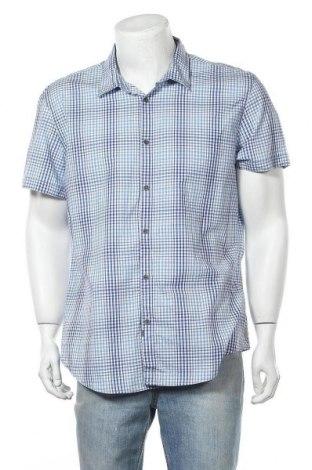 Мъжка риза Calvin Klein Jeans, Размер XL, Цвят Син, Памук, Цена 12,18лв.