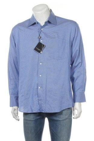 Мъжка риза Guy Laroche, Размер L, Цвят Син, Памук, Цена 68,88лв.
