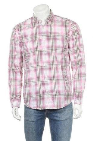 Мъжка риза Hugo Boss, Размер M, Цвят Многоцветен, Памук, Цена 30,10лв.
