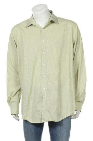 Мъжка риза Kenneth Cole, Размер XXL, Цвят Зелен, Цена 10,50лв.