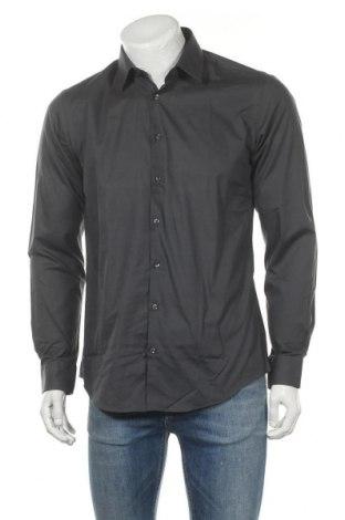 Мъжка риза Montego, Размер M, Цвят Сив, 70% памук, 30% полиестер, Цена 17,16лв.