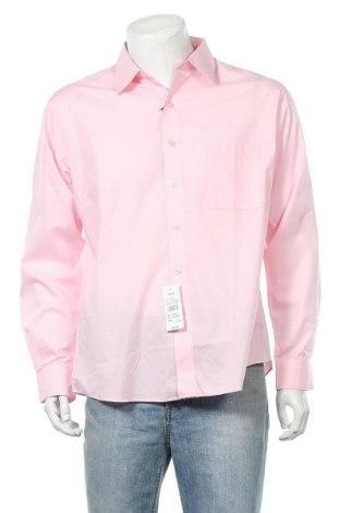 Мъжка риза Pierre Cardin, Размер L, Цвят Розов, 55% памук, 45% полиестер, Цена 21,84лв.
