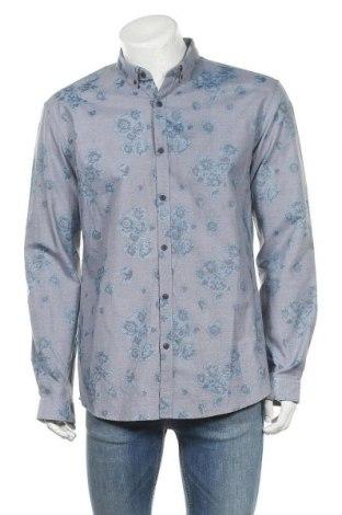 Мъжка риза Selected Homme, Размер XL, Цвят Син, 65% памук, 35% полиестер, Цена 13,05лв.
