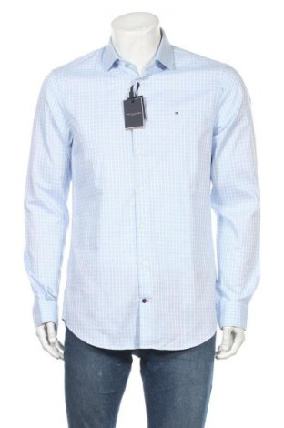Ανδρικό πουκάμισο Tommy Hilfiger, Μέγεθος L, Χρώμα Μπλέ, 100% βαμβάκι, Τιμή 42,14€