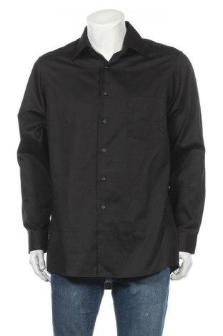Pánská košile  Van Heusen, Velikost L, Barva Černá, 55% bavlna, 45% polyester, Cena  115,00Kč