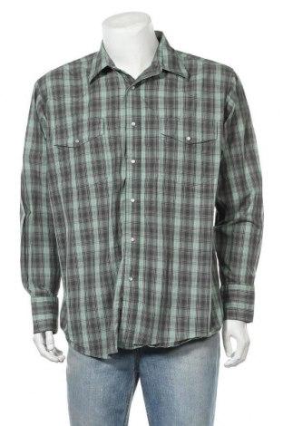 Мъжка риза Wrangler, Размер XL, Цвят Многоцветен, Памук, Цена 16,91лв.