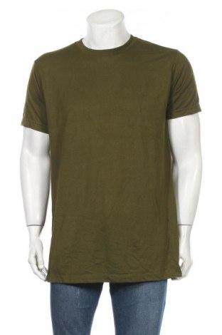 Pánské tričko , Velikost L, Barva Zelená, 50% bavlna, 50% polyester, Cena  102,00Kč