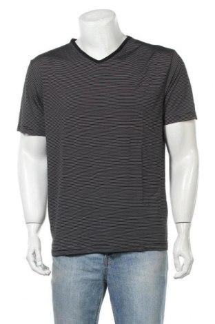 Мъжка тениска Authentic Style, Размер XL, Цвят Черен, Цена 16,07лв.