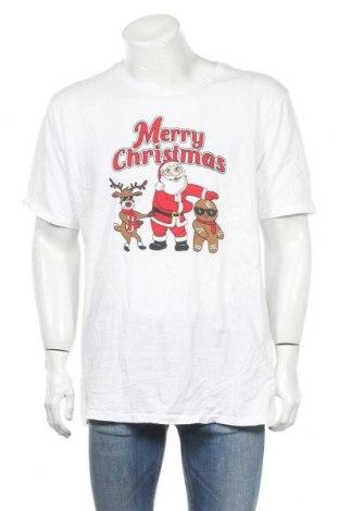 Мъжка тениска LOWES, Размер L, Цвят Бял, Памук, Цена 15,75лв.