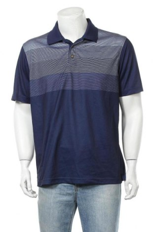 Pánské tričko  Pebble Beach, Velikost L, Barva Modrá, Polyester, Cena  115,00Kč