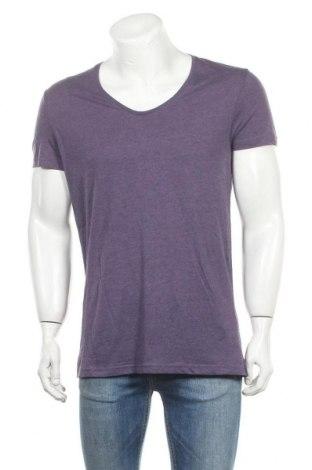 Ανδρικό t-shirt Review, Μέγεθος L, Χρώμα Βιολετί, 60% βαμβάκι, 40% πολυεστέρας, Τιμή 7,94€
