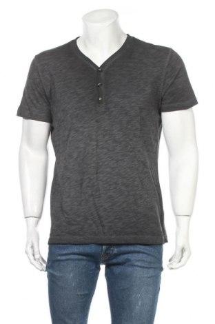 Мъжка тениска S.Oliver, Размер L, Цвят Сив, Памук, Цена 16,20лв.