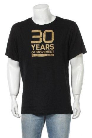 Мъжка тениска SOC, Размер XL, Цвят Черен, Памук, Цена 7,56лв.