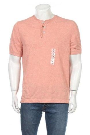 Мъжка тениска Weatherproof, Размер M, Цвят Розов, 60% памук, 40% полиестер, Цена 14,18лв.