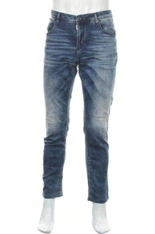 Мъжки дънки Antony Morato, Размер L, Цвят Син, 98% памук, 2% еластан, Цена 18,43лв.