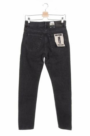 Мъжки дънки Mtwtfss Weekday, Размер S, Цвят Черен, Памук, Цена 40,32лв.