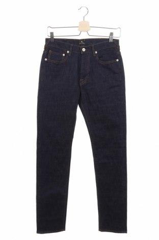 Мъжки дънки Ps by Paul Smith, Размер S, Цвят Син, 99% памук, 1% еластан, Цена 164,25лв.