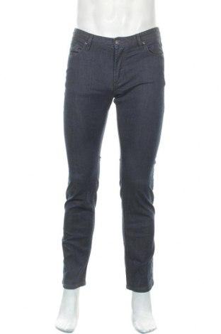 Мъжки дънки WE, Размер M, Цвят Син, 99% памук, 1% еластан, Цена 26,46лв.