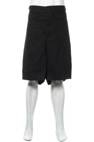 Мъжки къс панталон, Размер 5XL, Цвят Черен, 98% памук, 2% еластан, Цена 43,68лв.