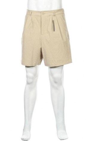 Мъжки къс панталон ASOS, Размер L, Цвят Бежов, 91% полиамид, 9% еластан, Цена 10,92лв.