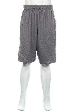 Мъжки къс панталон Air Jordan Nike, Размер L, Цвят Сив, Полиестер, Цена 29,40лв.