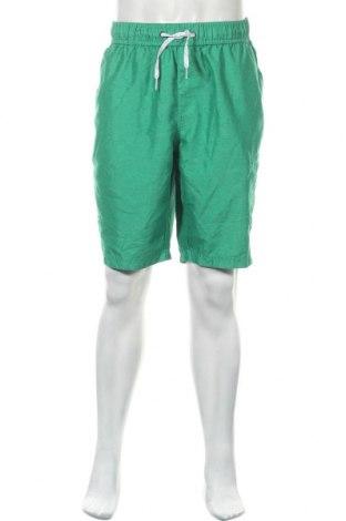 Мъжки къс панталон Angelo Litrico, Размер XL, Цвят Зелен, Полиестер, Цена 22,05лв.