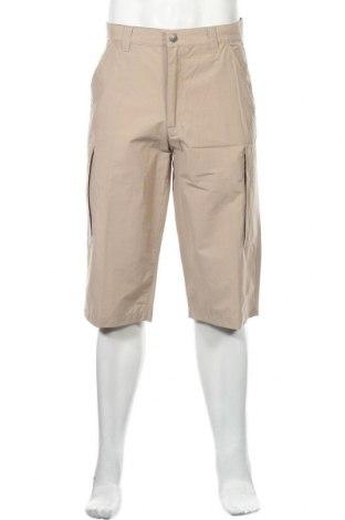 Мъжки къс панталон Broadway, Размер M, Цвят Бежов, 68% памук, 32% полиамид, Цена 6,30лв.