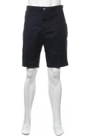 Мъжки къс панталон Bugatti, Размер XL, Цвят Син, 97% памук, 3% еластан, Цена 82,95лв.