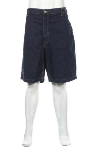 Мъжки къс панталон Carhartt, Размер XXL, Цвят Син, Памук, Цена 107,10лв.