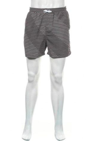 Ανδρικό κοντό παντελόνι Charles Vogele, Μέγεθος L, Χρώμα Γκρί, Πολυεστέρας, Τιμή 9,35€