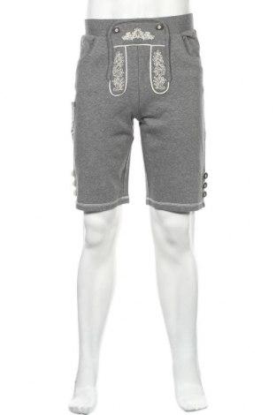 Pantaloni scurți de bărbați Der Wildschutz, Mărime S, Culoare Gri, 55% bumbac, 45% poliester, Preț 86,21 Lei