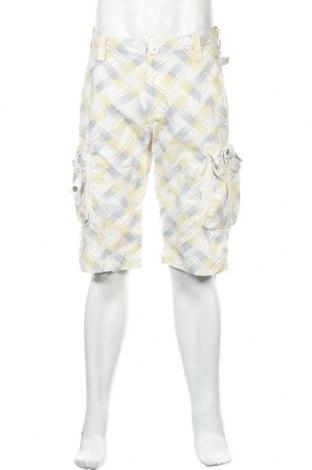 Мъжки къс панталон Enos, Размер M, Цвят Многоцветен, Памук, Цена 18,48лв.