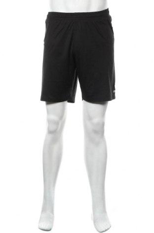 Мъжки къс панталон Erima, Размер M, Цвят Черен, Полиестер, Цена 13,23лв.