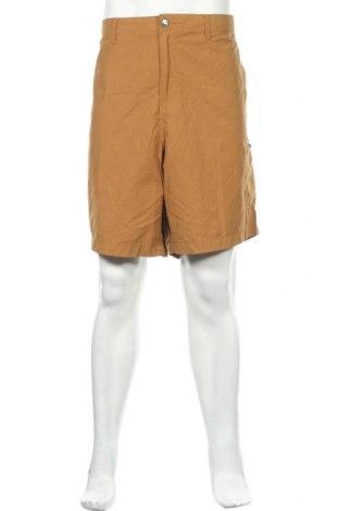 Мъжки къс панталон George, Размер XXL, Цвят Кафяв, 61% памук, 39% полиамид, Цена 24,36лв.