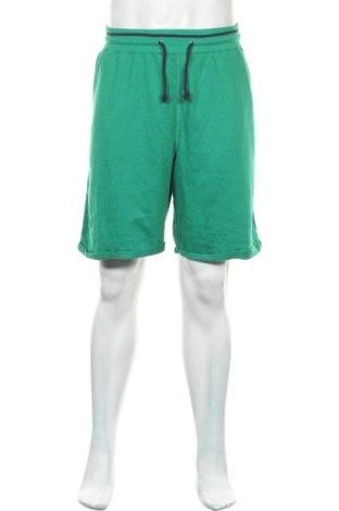Мъжки къс панталон Infinity, Размер XXL, Цвят Зелен, 52% полиестер, 48% памук, Цена 25,52лв.