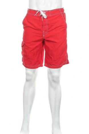 Мъжки къс панталон Joe Boxer, Размер S, Цвят Червен, Полиестер, Цена 4,46лв.