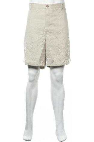 Мъжки къс панталон L.L. Bean, Размер XXL, Цвят Сив, Памук, Цена 9,64лв.