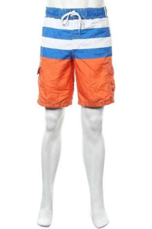 Мъжки къс панталон Op, Размер S, Цвят Многоцветен, Полиестер, Цена 18,90лв.