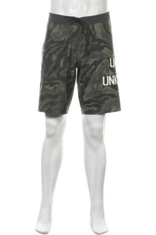Мъжки къс панталон Reebok, Размер M, Цвят Зелен, Цена 35,70лв.