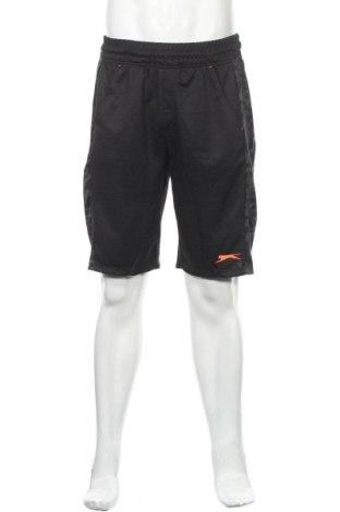 Мъжки къс панталон Slazenger, Размер L, Цвят Черен, Полиестер, Цена 22,94лв.