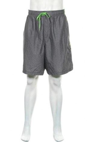 Мъжки къс панталон Speedo, Размер XXL, Цвят Сив, Полиестер, Цена 25,94лв.