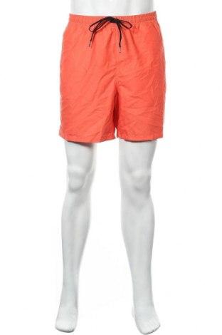Мъжки къс панталон Vans, Размер XL, Цвят Оранжев, Полиестер, Цена 21,84лв.
