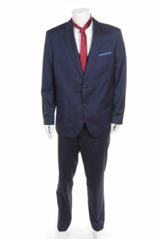 Ανδρικό κοστούμι Man's World, Μέγεθος XL, Χρώμα Μπλέ, 73% πολυεστέρας, 27% βισκόζη, Τιμή 49,24€