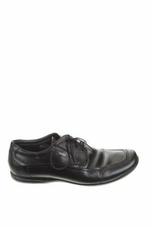 Мъжки обувки Bugatti, Размер 41, Цвят Черен, Естествена кожа, Цена 56,16лв.