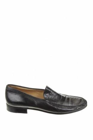 Мъжки обувки Moreschi, Размер 40, Цвят Черен, Естествена кожа, Цена 96,25лв.