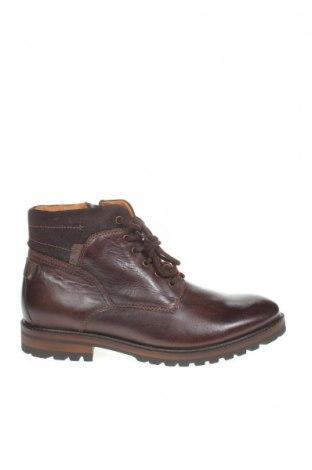 Мъжки обувки Pier One, Размер 45, Цвят Кафяв, Естествена кожа, Цена 149,00лв.